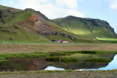 Landscape in southern of Iceland Stock Photos
