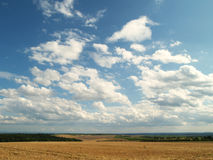 Landscape in Southern Moravia Stock Photo