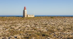 Landscape of Southern Portugal, algarve region royalty free stock photography