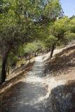 Landscape in Spain. Near Caminito Del Rey Royalty Free Stock Photos