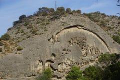 Landscape in Spain. Near Caminito Del Rey Stock Image
