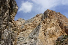 Landscape in Spain. Near Caminito Del Rey Royalty Free Stock Image