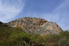 Landscape in Spain. Near Caminito Del Rey Stock Photo