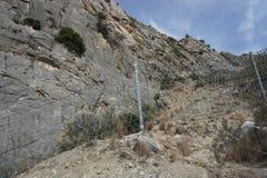 Landscape in Spain. Near Caminito Del Rey Stock Photography
