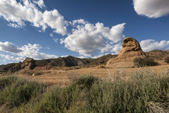 Landscape in Spain at summer Royalty Free Stock Image