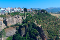 Landscape of Spanish city of Ronda Stock Images