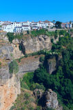Landscape of Spanish city Ronda Stock Photos