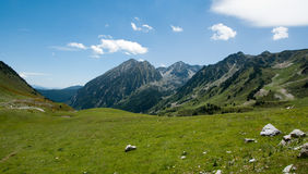 Landscape of the Spanish Pyrenees Stock Image