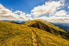 Landscape with the spectacular Parang  mountains Royalty Free Stock Image