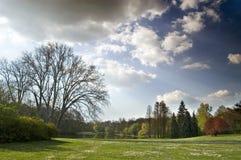 landscape spring στοκ φωτογραφίες