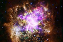 Landscape of star clusters. Beautiful image of space. Cosmos art. Elements of this image furnished by NASA royalty free stock photos