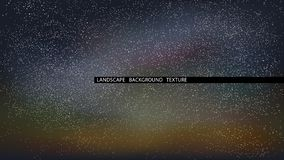 Landscape starry night vector illustration. Northern Lights. royalty free illustration