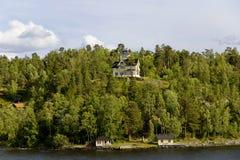 Landscape on Stockholm archipelago Royalty Free Stock Image