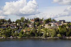 Landscape on Stockholm archipelago Royalty Free Stock Photos