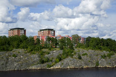 Landscape on Stockholm archipelago Stock Photography