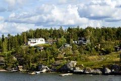 Landscape on Stockholm archipelago Stock Image