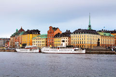 Landscape of Stockholm Stock Photography