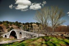 landscape stone bridge Stock Images