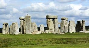 Landscape of Stonehenge in England, UNESCO World heritage Site in 15. September 2018 UK. Landscape of Stonehenge in England, UNESCO World heritage Site in 15 stock photography