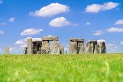 Stonehenge England. Landscape of Stonehenge England United Kingdom, UNESCO World heritage Site stock image