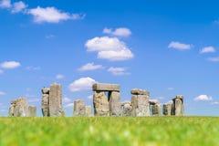 Stonehenge England. Landscape of Stonehenge England United Kingdom, UNESCO World heritage Site stock photo