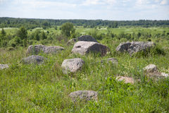 Landscape with stones Stock Photography