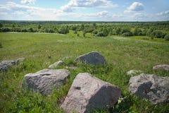Landscape with stones Stock Photos