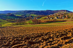 Landscape of Styria. Austria in Spring Royalty Free Stock Images