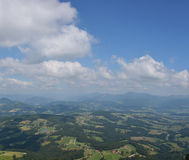 Landscape in Styria Stock Images