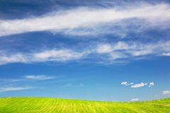 Landscape of summer royalty free stock photography