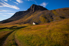 Landscape of summer in the mountains of Iceland Stock Photos