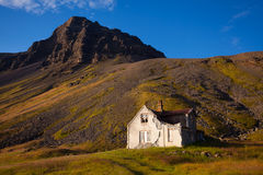 Landscape of summer in the mountains of Iceland Stock Images