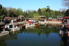 The landscape of Summer Palace Stock Photography