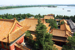 Landscape of Summer palace Royalty Free Stock Photography