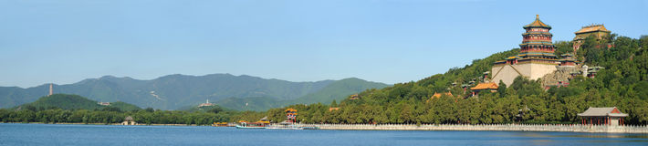 Landscape of Summer palace Stock Photo