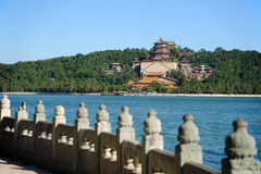 Landscape of Summer palace Stock Photo
