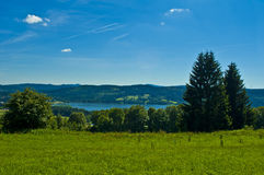 Landscape on summery time Royalty Free Stock Photos