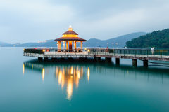 Landscape of sun moon lake Royalty Free Stock Photo