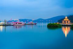 Landscape of sun moon lake Stock Photo