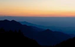 Landscape of sunrise Stock Photo