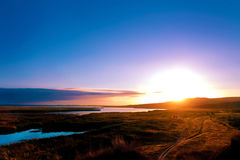 Landscape sunrise Royalty Free Stock Images