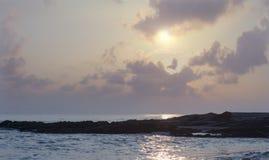 Sunrise viewpoint Songkhla. Landscape sunrise songkhla sea thailand royalty free stock image