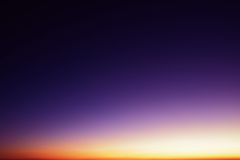 Landscape in sunset Royalty Free Stock Photography