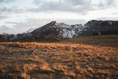 Landscape, sunset view at Independence Pass near Aspen, Colorado. Landscape, sunset view of the mountains at Independence Pass near Aspen, Colorado stock photos