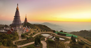 Landscape of Suthap mountain Royalty Free Stock Photography