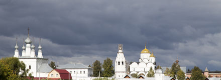 The landscape in suzdal,russian federation. The landscape is taken in suzdal,russian federation Royalty Free Stock Photo