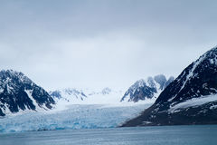 Landscape of svalbard Royalty Free Stock Photo