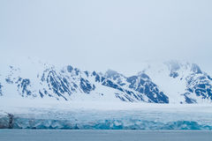 Landscape of svalbard Royalty Free Stock Images