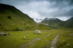 Landscape in Swanetia Stock Images