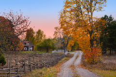 Landscape in Sweden Stock Photography